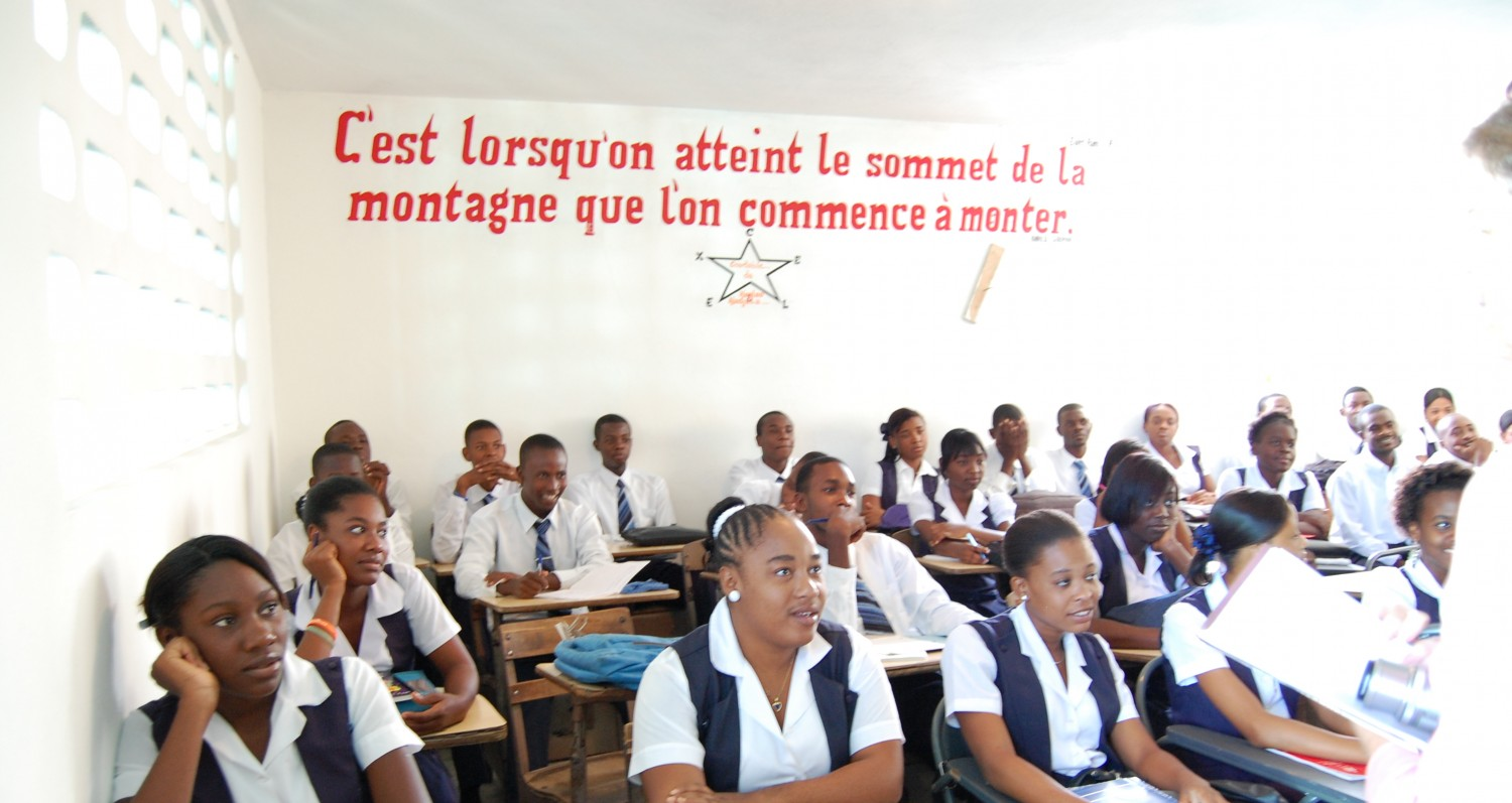 Hinche Haiti Partners for Education